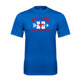 Performance Royal Tee-Cross Country Design
