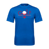 Syntrel Performance Royal Tee-Stacked Golf Design
