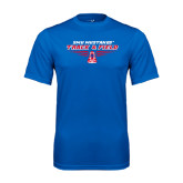Syntrel Performance Royal Tee-Track and Field Design