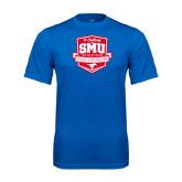 Syntrel Performance Royal Tee-A Century of SMU Athletics