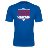 Performance Royal Tee-2017 AAC Regular Season Champions Repeating - Mens Basketball