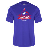 Syntrel Performance Royal Tee-2017 AAC Conference Champions - Mens Basketball Banners