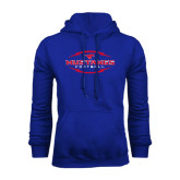 Royal Fleece Hoodie-Athletic Mustangs in Football