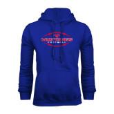 Royal Fleece Hoodie-Athletic Mustangs in Football