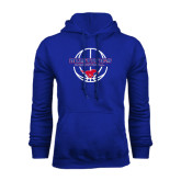 Royal Fleece Hoodie-Mustang in Basketball