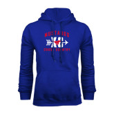 Royal Fleece Hoodie-Cross Country Design