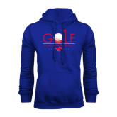 Royal Fleece Hoodie-Stacked Golf Design