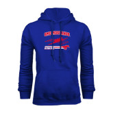Royal Fleece Hoodie-Rowing Design