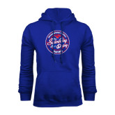 Royal Fleece Hoodie-Swim and Dive Design