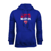 Royal Fleece Hoodie-Game Set Match