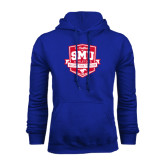 Royal Fleece Hoodie-A Century of SMU Athletics