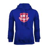 Royal Fleece Hood-A Century of SMU Athletics