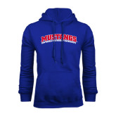 Royal Fleece Hoodie-Arched Mustangs
