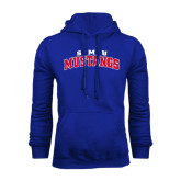 Royal Fleece Hoodie-Arched SMU Mustangs