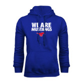 Royal Fleece Hoodie-We Are Mustangs