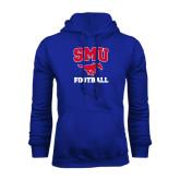 Royal Fleece Hood-Football