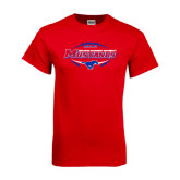 Red T Shirt-Mustangs in Football