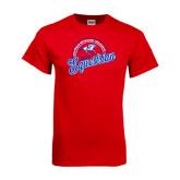 Red T Shirt-Script Equestrian