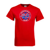 Red T Shirt-Swim and Dive Design
