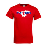 Red T Shirt-#PonyUpTempo Flat