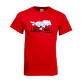 Red T Shirt-#PonyUpTempo Lock Arms