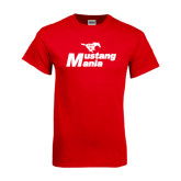 Red T Shirt-Mustang Mania