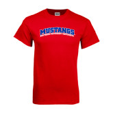 Red T Shirt-Arched Mustangs