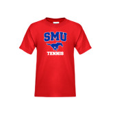 Youth Red T Shirt-Tennis