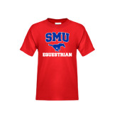 Youth Red T Shirt-Equestrian