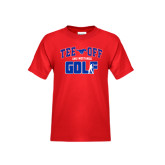 Youth Red T Shirt-Tee Off Design