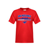 Youth Red T Shirt-Rowing Profile Design