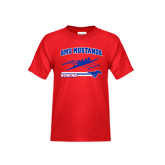 Youth Red T Shirt-Rowing Design