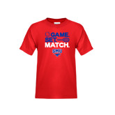 Youth Red T Shirt-Game Set Match
