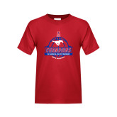 Youth Red T Shirt-2017 AAC Conference Champions - Mens Basketball Banners