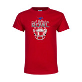 Youth Red T Shirt-2017 Frisco Bowl - Football