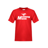 Youth Red T Shirt-Mustang Mania