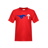 Youth Red T Shirt-Pony Up