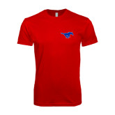 SoftStyle Red T Shirt-Official Outlined Logo