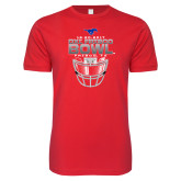 Next Level SoftStyle Red T Shirt-2017 Frisco Bowl - Football