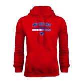 Red Fleece Hoodie-Rowing Profile Design
