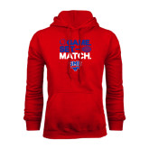 Red Fleece Hoodie-Game Set Match