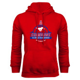 Red Fleece Hoodie-2017 AAC Conference Champions - Mens Basketball Banners