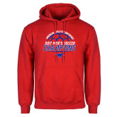 Red Fleece Hoodie-2017 Mens Soccer Champions