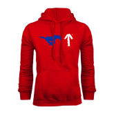 Red Fleece Hoodie-Pony Up