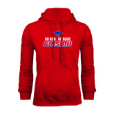 Red Fleece Hoodie-Go Red Go Blue Go SMU
