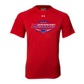 Under Armour Red Tech Tee-Mustangs in Football