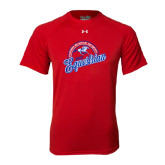 Under Armour Red Tech Tee-Script Equestrian