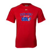 Under Armour Red Tech Tee-Tee Off Design