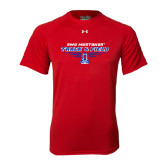 Under Armour Red Tech Tee-Track and Field Design