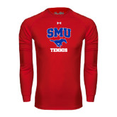Under Armour Red Long Sleeve Tech Tee-Tennis